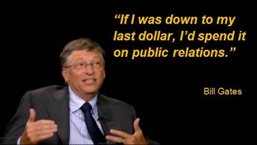 public relations 501