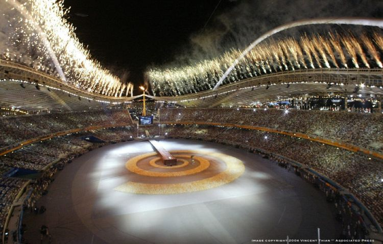 event management athens olympic games
