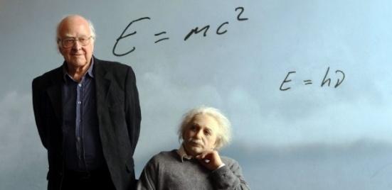 higgs & einstein